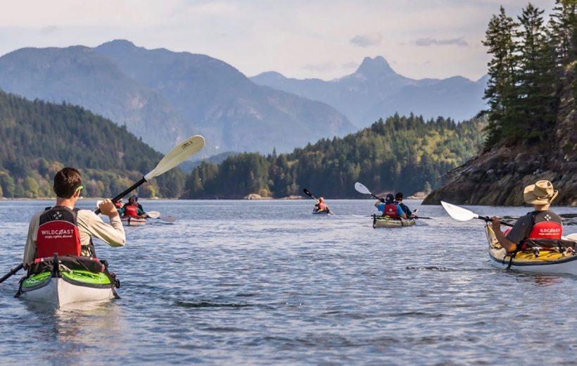 Discovery Islands Kayaking Tour